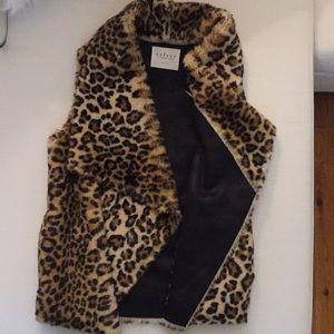 Faux Fur Vest. Velvet by Graham & Spencer